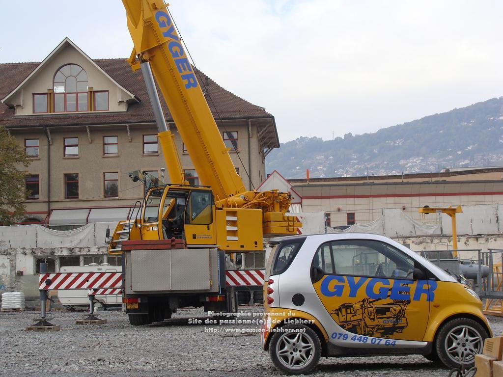 Les grues de DE GYGER (Suisse) 20091021dsc02944-
