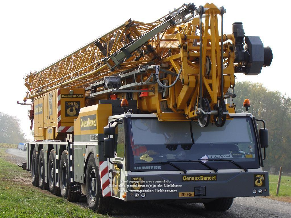 Grue mobile de construction Liebherr MK 100 20091031dsc03213-