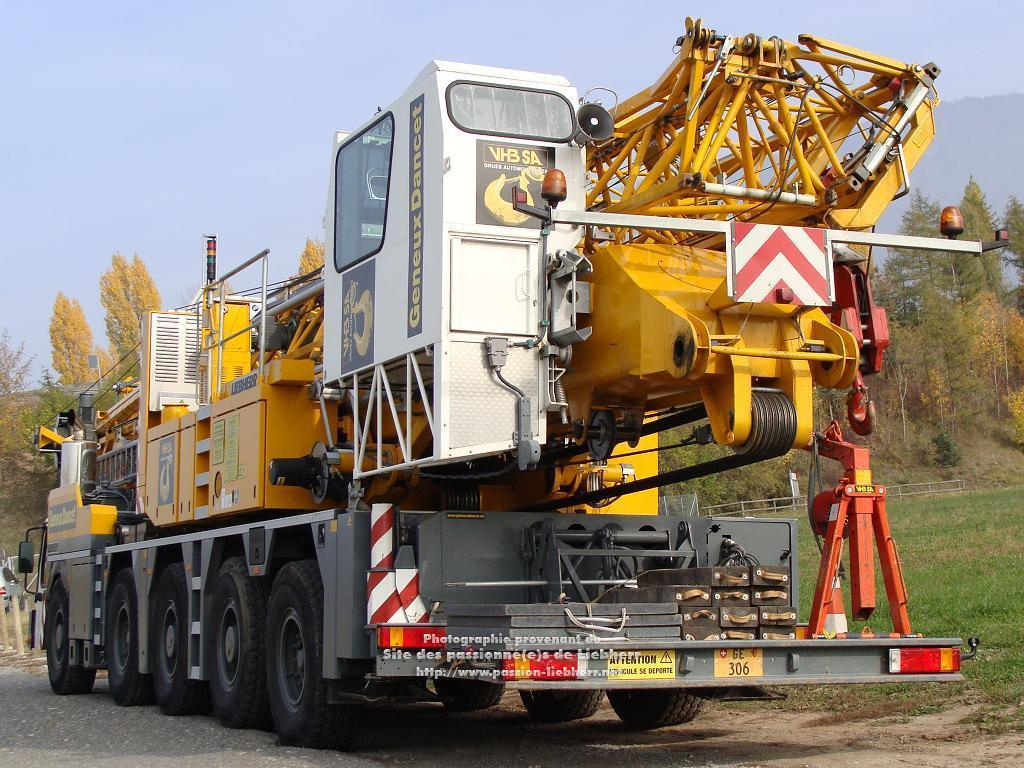 Grue mobile de construction Liebherr MK 100 20091031dsc03224-