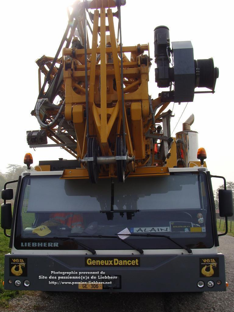 Grue mobile de construction Liebherr MK 100 20091031dsc03247-