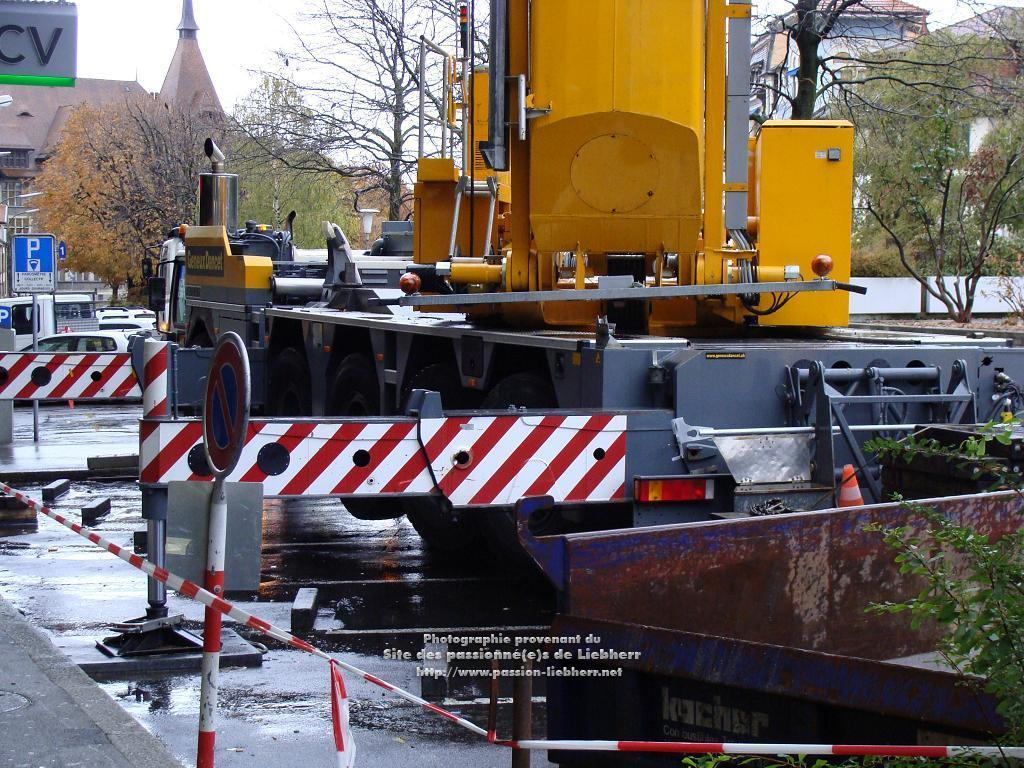 Grue mobile de construction Liebherr MK 100 20091102dsc03282-
