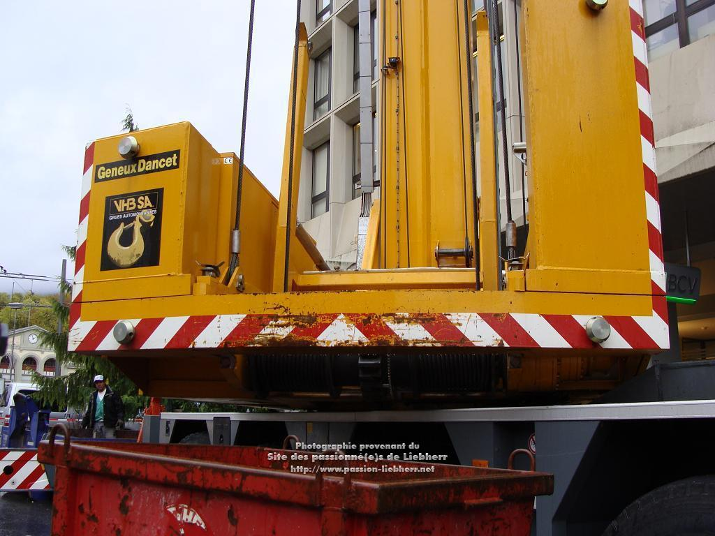Grue mobile de construction Liebherr MK 100 20091102dsc03289-