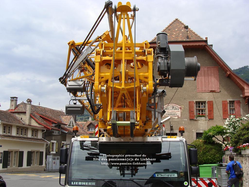 Grue mobile de construction Liebherr MK 88 20100608dsc04744-
